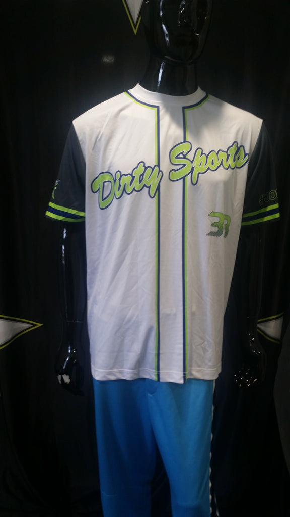 Dirty Sports 33 - Custom Full-Dye Jersey
