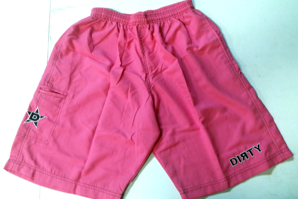 Dirty Sports, Micro Fiber Shorts - Pink & Black