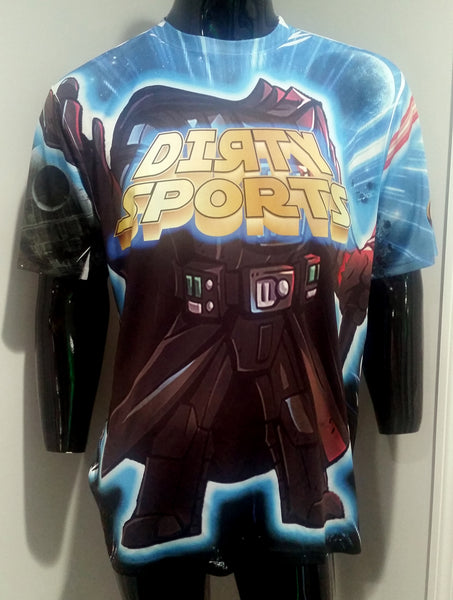 Dirty Star Wars Characters 2017 - Custom Full-Press Jersey
