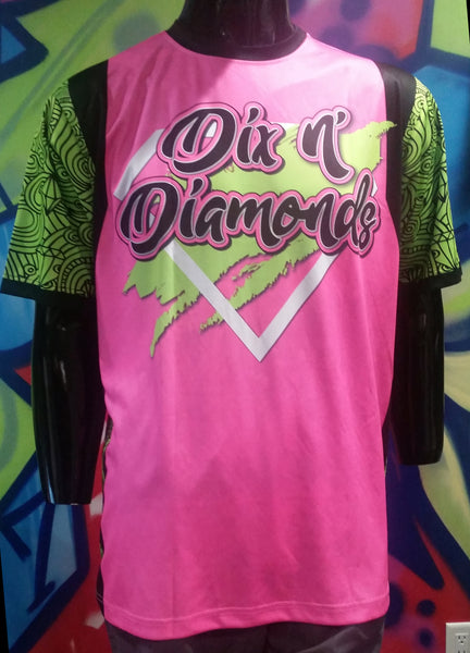 Dix N' Diamonds - Custom Full-Dye Jersey