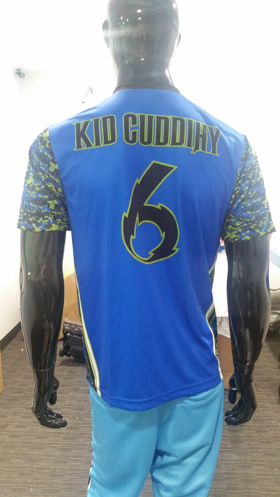 Drink, Kick, Repeat; Kickball - Custom Full-Dye Jersey