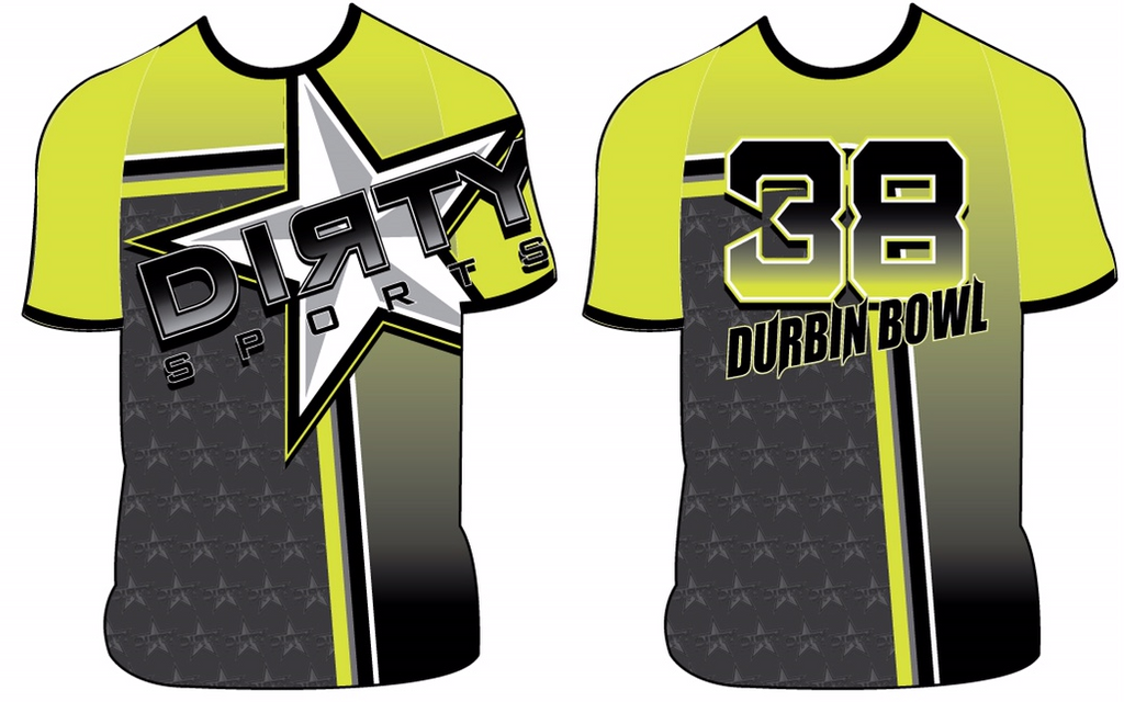 Dirty Sports - Durbin Bowl - Custom Full-Dye Jersey
