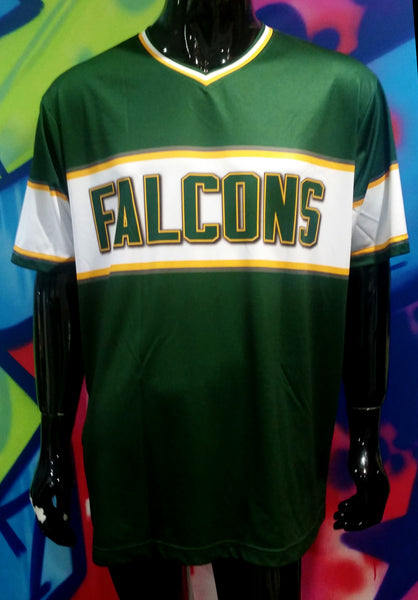 Falcons, V-Neck - Custom Full-Dye Jersey