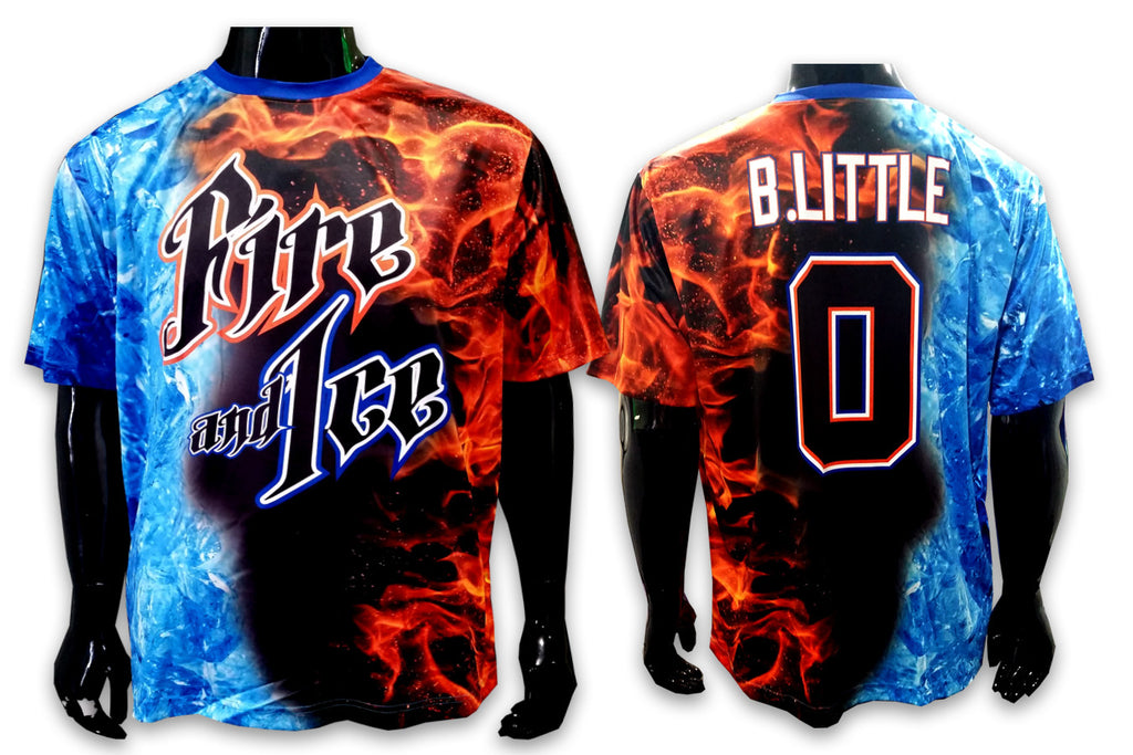 Fire and Ice - Custom Full-Dye Jersey