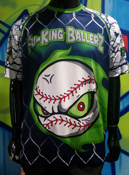 Fuking Ballers - Custom Full-Dye Jersey
