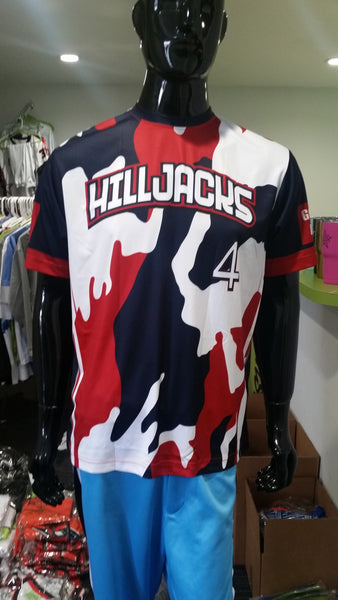 Hilljacks - Custom Full-Dye Jersey