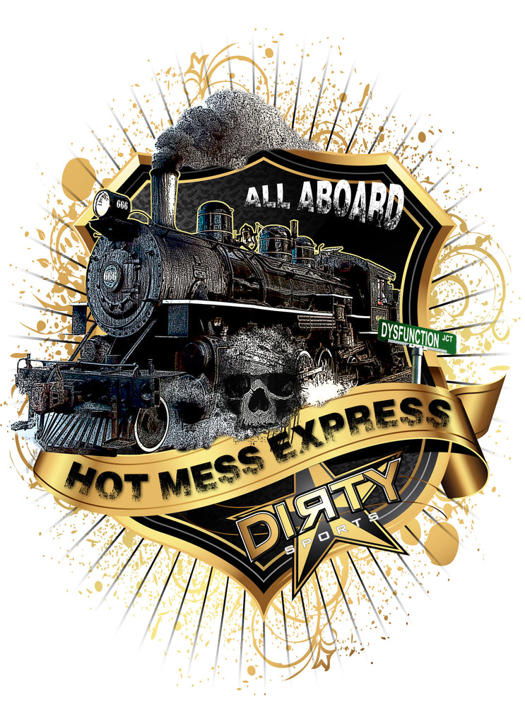 Hot Mess Express! - Women's TANK TOP _ Full-Sub
