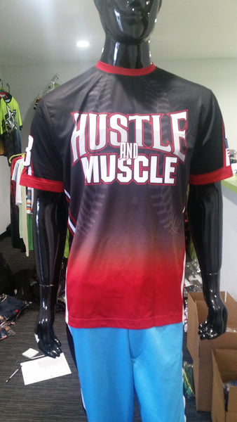 Hustle and Muscle - Custom Full-Dye Jersey