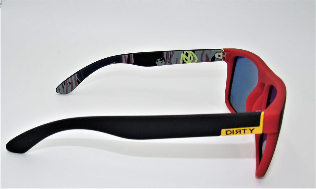 Dirty Sunglasses-Red