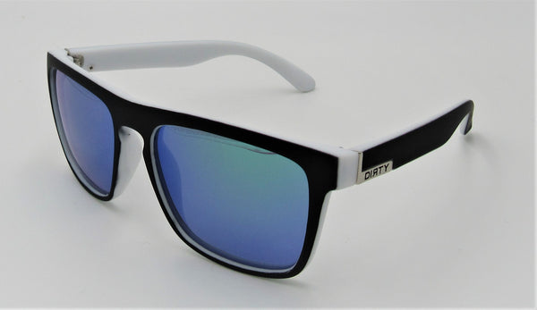 Dirty Sunglasses-White