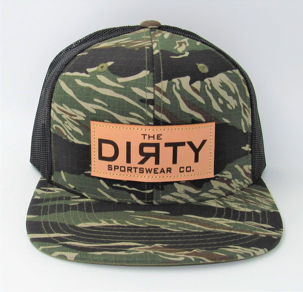 #338 Tiger Camo & Black - Dirty Patch