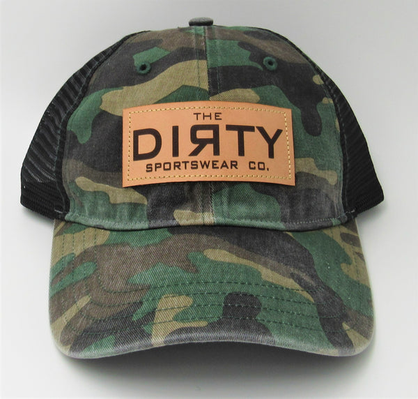 #332 Green Camo & Black- Dirty Patch