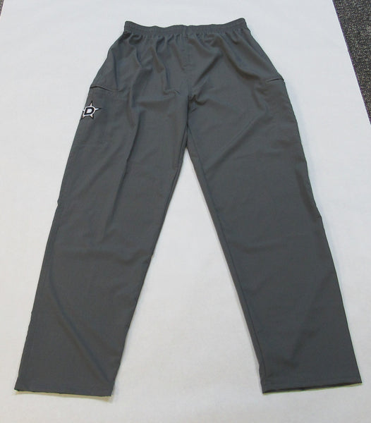 Lycra-Fiber Pants - Gray with Black D Star logo
