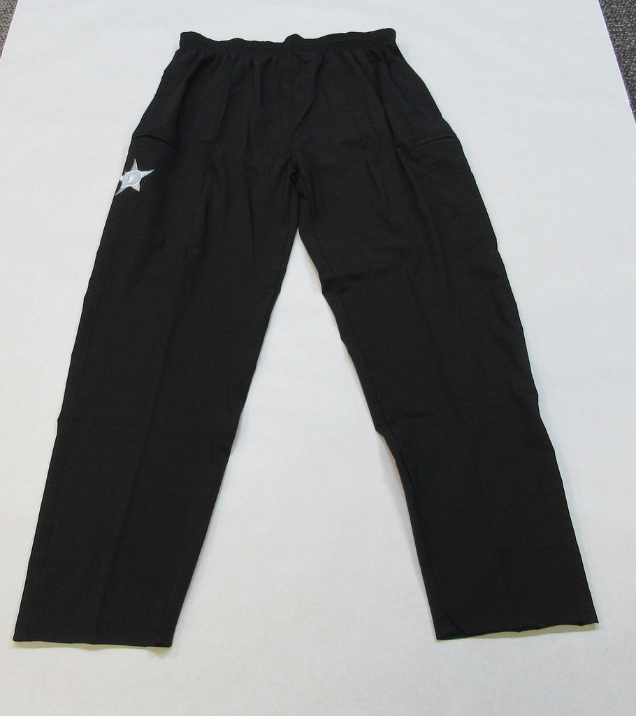 4-WAY STRETCH PANT - Black with White D Star logo