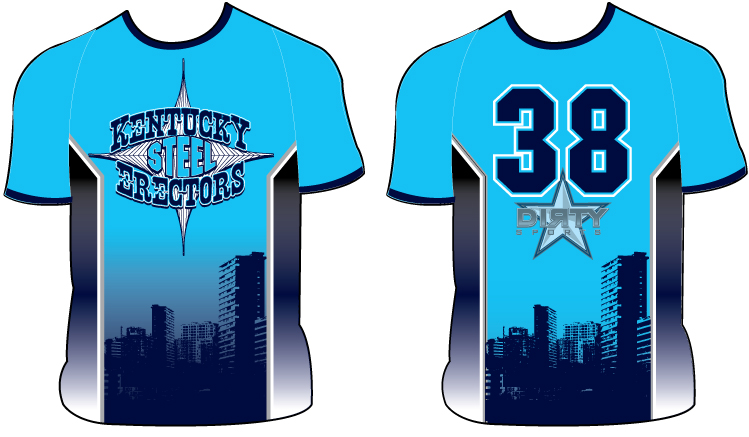 Kentucky STEEL ERECTORS - Custom Full-Dye Jersey