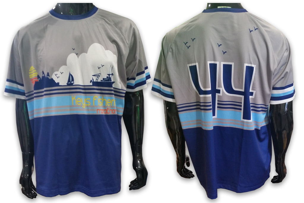 Keys Fisheries Marathon - Custom Full-Dye Jersey