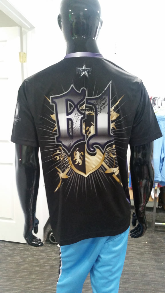 Knights, Black - Custom Full-Dye Jersey