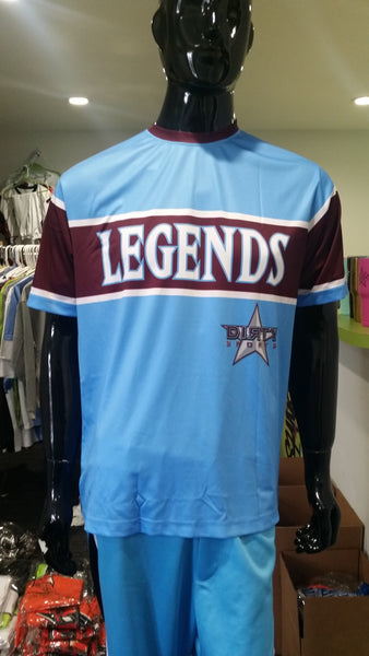 Legends, Light Blue - Custom Full-Dye Jersey