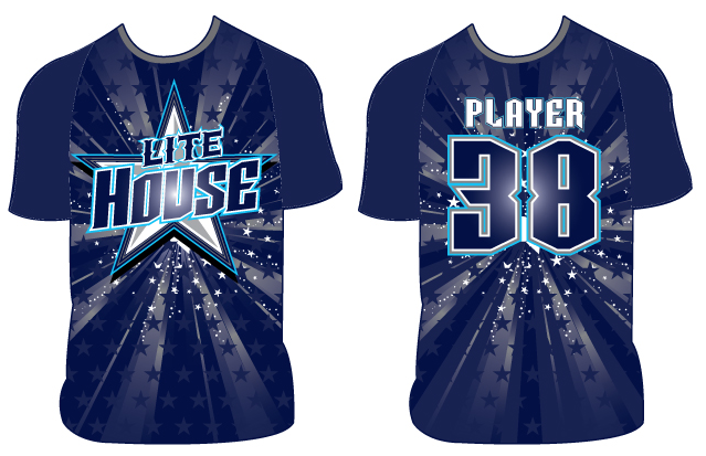 Lite House - Custom Full-Dye Jersey