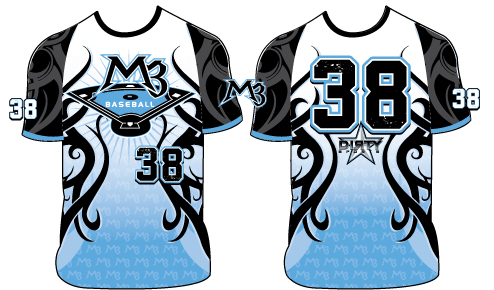 M3 Baseball TRIBAL - Custom Full-Dye Jersey