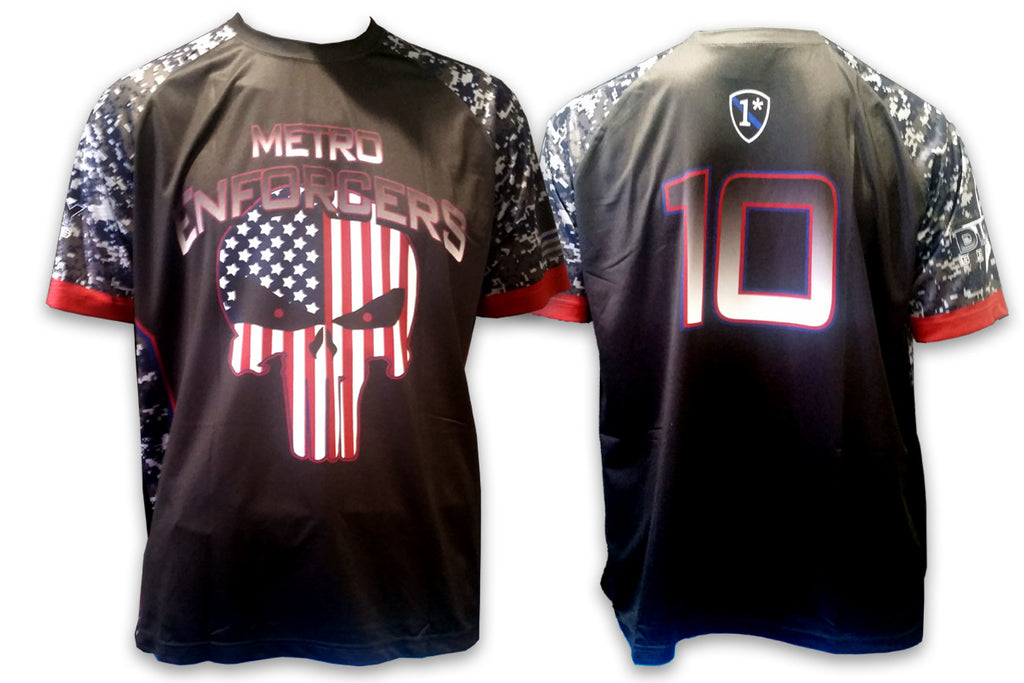 Metro Enforcers - Custom Full-Dye Jersey