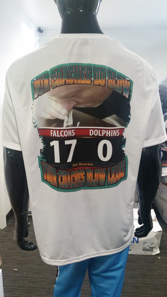 Miami Coaches Do Blow - Short Sleeve Polyester Shirt