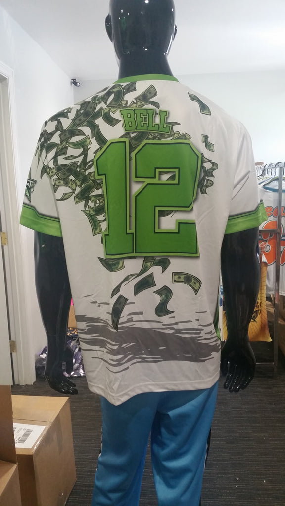 Money Shots - Custom Full-Dye Jersey