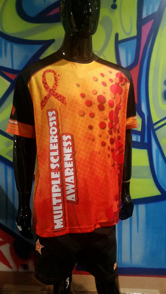 Multiple Sclerosis Awareness - Custom Full-Dye Jersey