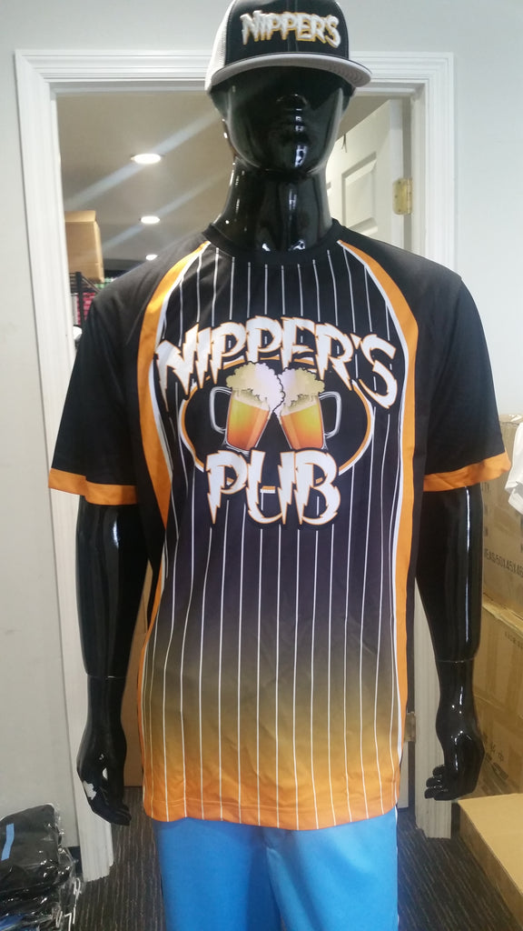Nippers Pub - Custom Full-Dye Jersey and Hat