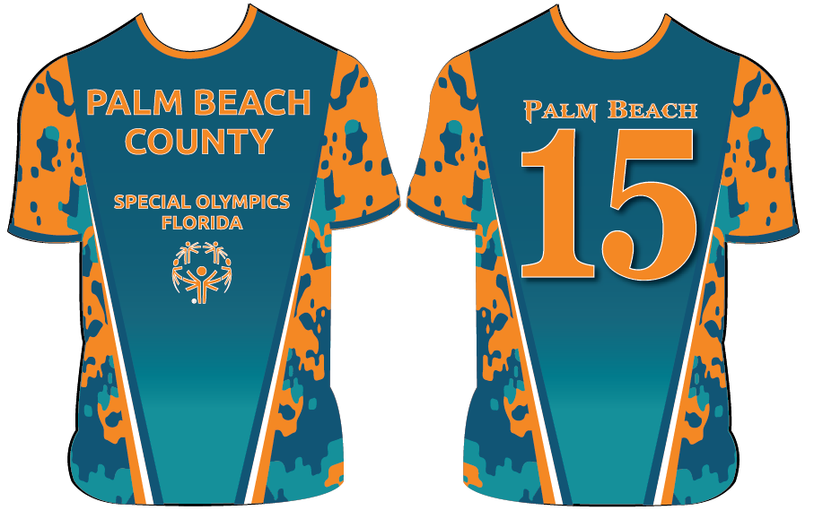Palm Beach County - Special Olympics - Custom Full-Dye Jersey