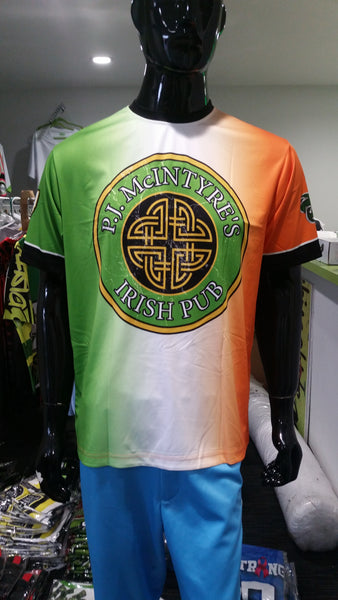PJ McIntyre's Irish Pub - Custom Full-Dye Jersey