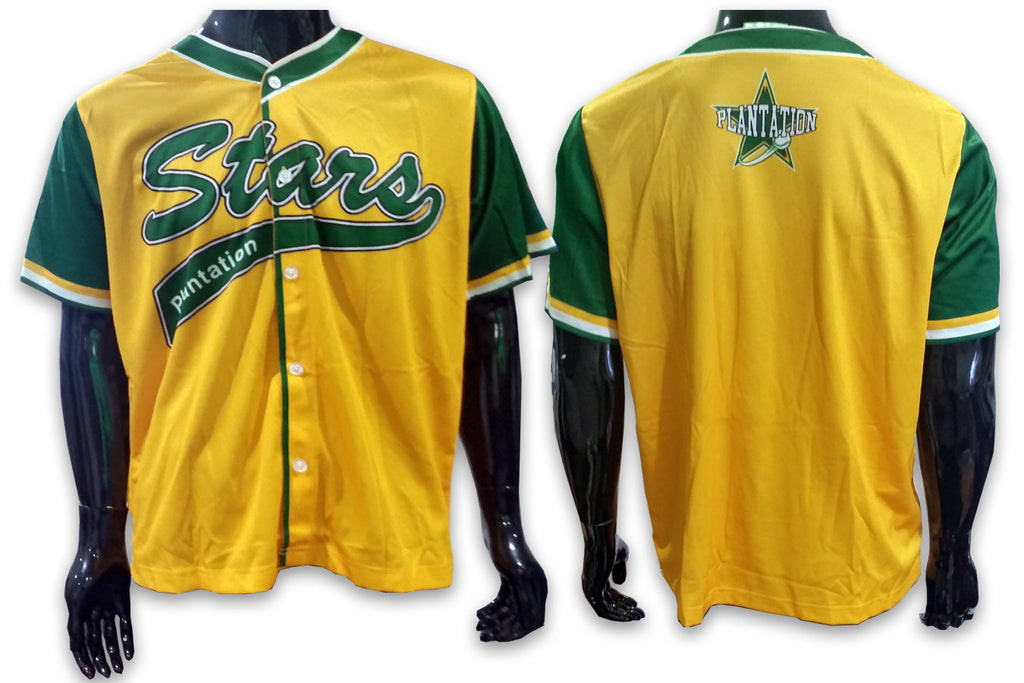 Plantation STARS Yellow - Custom Full-Dye Jersey