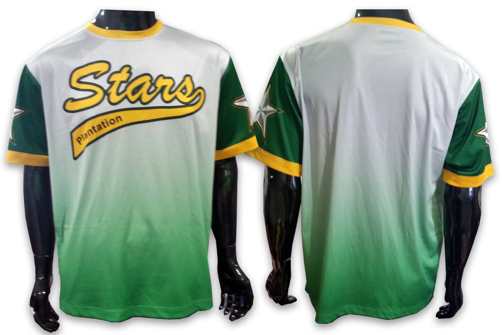 Plantation STARS Green - Custom Full-Dye Jersey