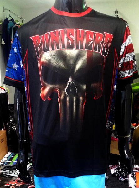 Punishers, Patriotic - Custom Full-Dye Jersey