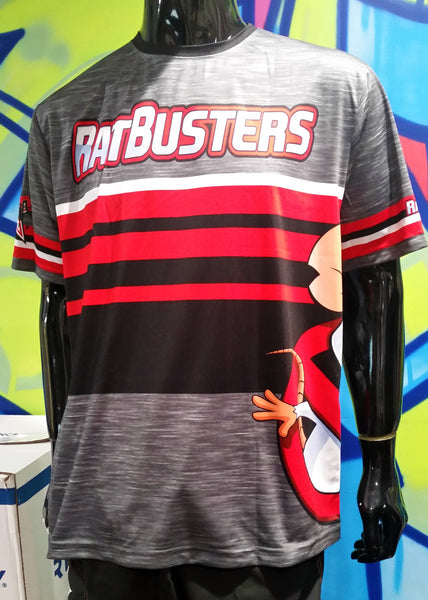 Rat Busters, Dark Heather - Custom Full-Dye Jersey