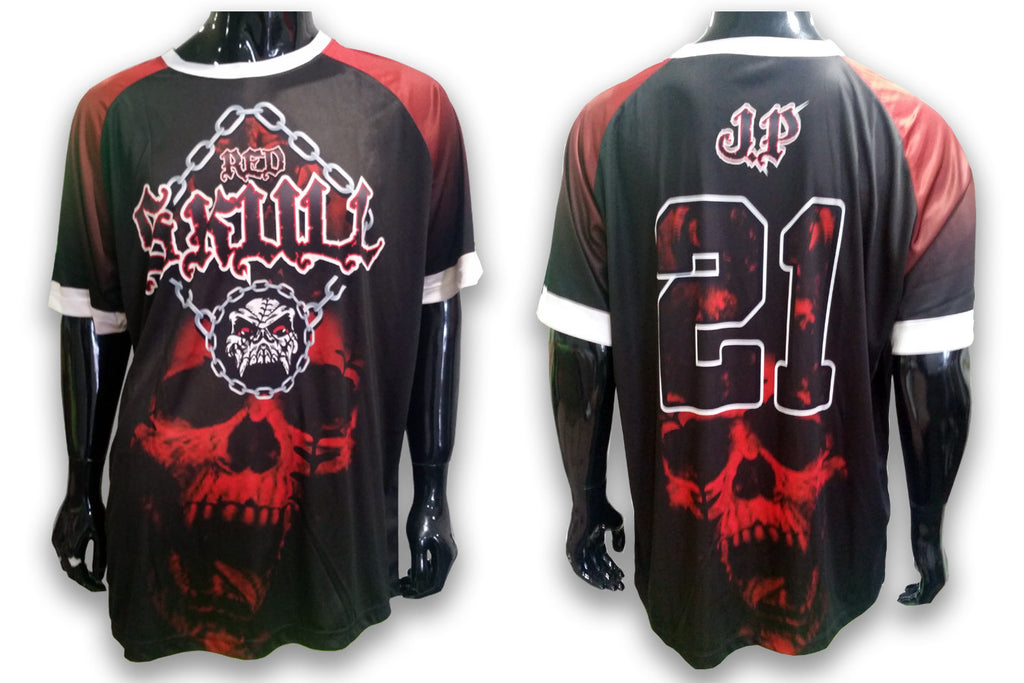 Red Skull - Custom Full-Dye Jersey