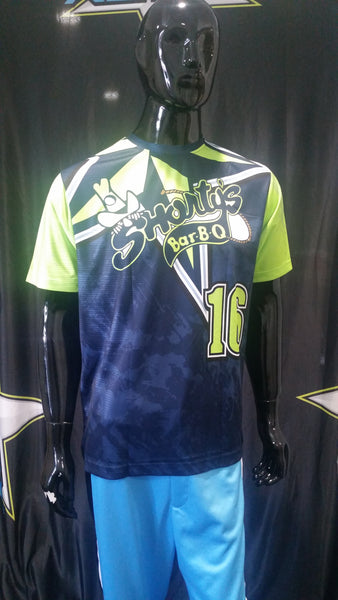 Shorty's Bar B Que - Custom Full-Dye Jersey