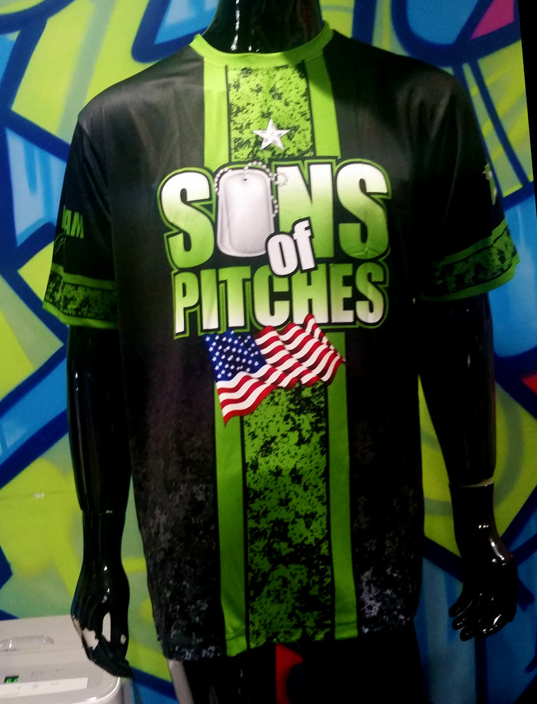 Sons of Pitches - Custom Full-Dye Jersey