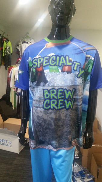 Specialty Brew Crew - Custom Full-Dye Jersey