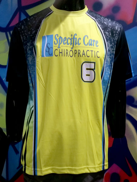 Specific Care Chiropractic - Custom Full-Dye Jersey