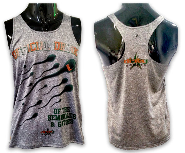 Miami HURRICANES Sperm - Women's TANK TOP