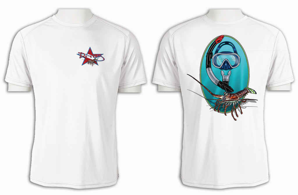 Spiny Lobster - Short Sleeve Polyester Shirt
