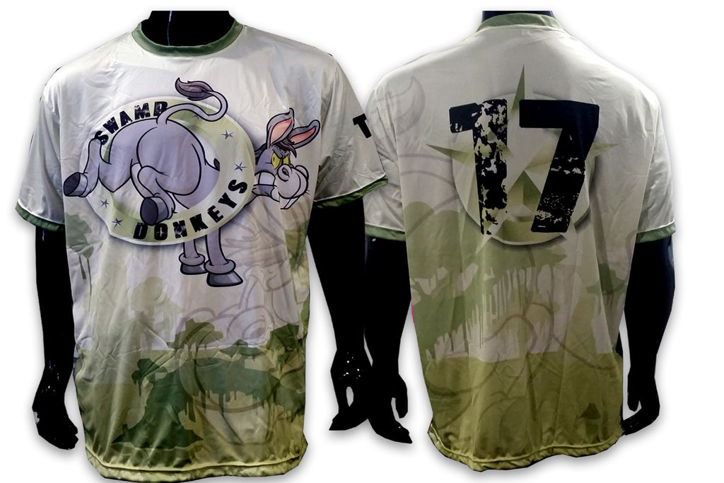 Swamp Donkeys - Custom Full-Dye Jersey