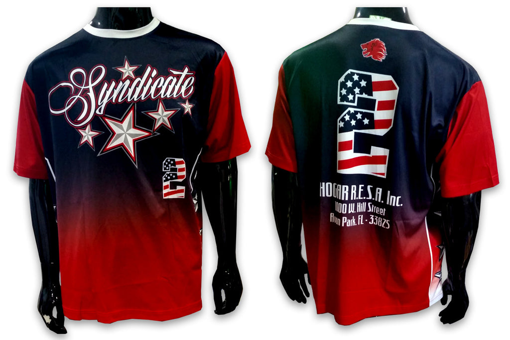 Syndicate - Custom Full-Dye Jersey