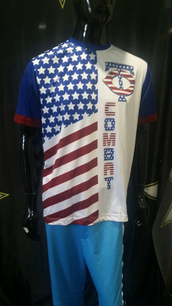 TC Combat, USA - Custom Full-Dye Jersey