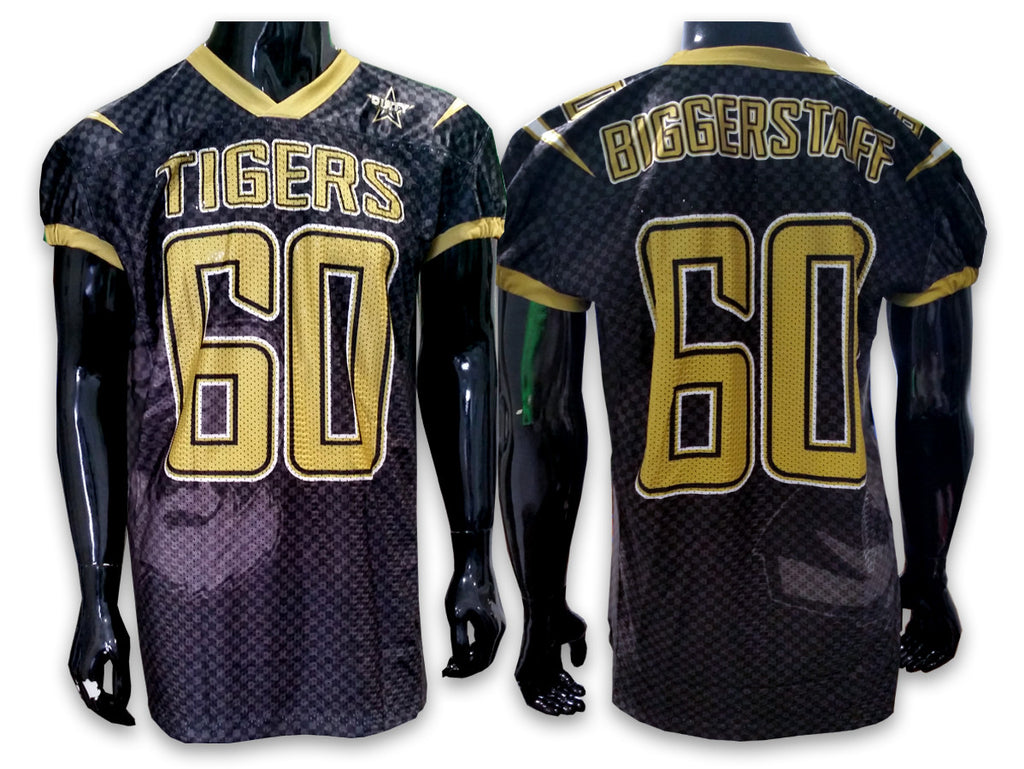 TIGERS Football - Custom Full-Dye Jersey