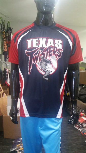 Texas Twisters - Custom Full-Dye Jersey