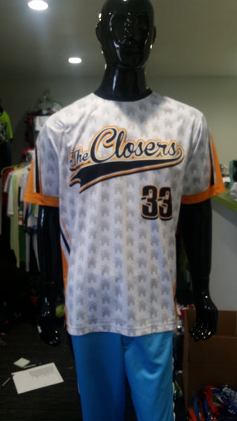 The Closers - Custom Full-Dye Jersey