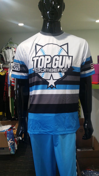 Top Gun Bombers - Custom Full-Dye Jersey