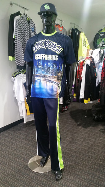Triborough Scaffolding - Custom Full-Dye Jersey and Pants